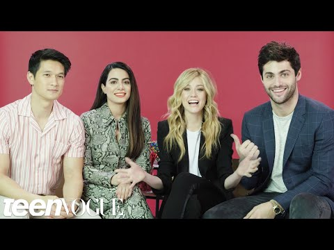 The &39;Shadowhunters&39; Cast Plays &39;I Dare You&39;  Teen Vogue