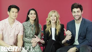 The \'Shadowhunters\' Cast Plays \'I Dare You\' | Teen Vogue