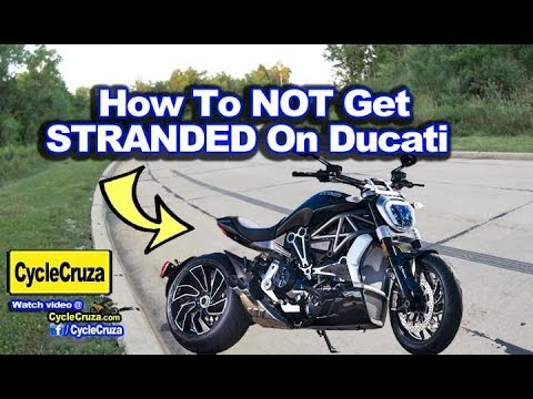 How To Start Ducati XDiavel Without Key Fob (AVOID Getting STRANDED!)