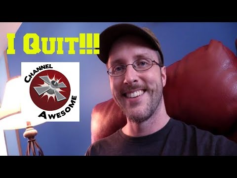 Doug Walker Quits Channel Awesome #ChangetheChannel