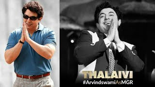 Arvind Swami As MGR First Look | Thalaivi Teaser | Kangana Ranaut & Arvind Swami