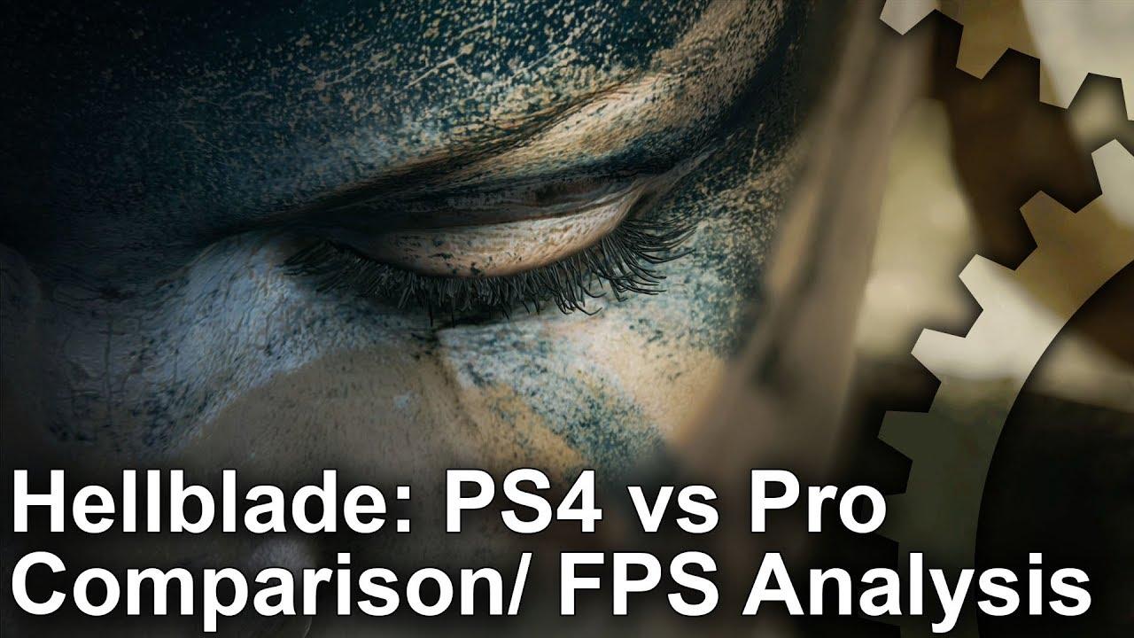 4K] Hellblade: PS4 vs PS4 Pro Graphics Comparison + Frame-Rate Test ...