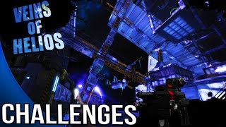 Borderlands The Pre Sequel - Veins of Helios Challenges - Symbols, Jump Pads, Eghood, worker bots