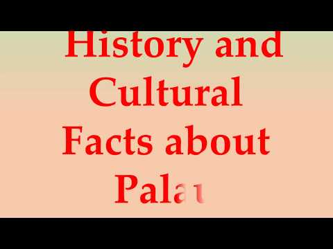 History and Cultural Facts about Palau