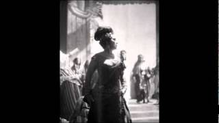"""Leyla Gencer sings """"Caro nome"""" from Rigoletto"""