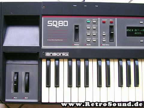 Ensoniq SQ-80 CrossWave Synthesizer