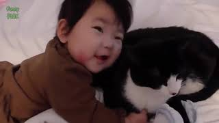 Funny Babies and Animals Video THE BEST Adorable Baby and Animals Compilation 2019 hd