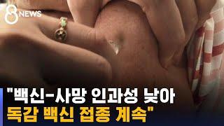 """""""백신-사망 인과성 낮아 접종 계속"""" 논의 끝 당국 결론 / SBS"""
