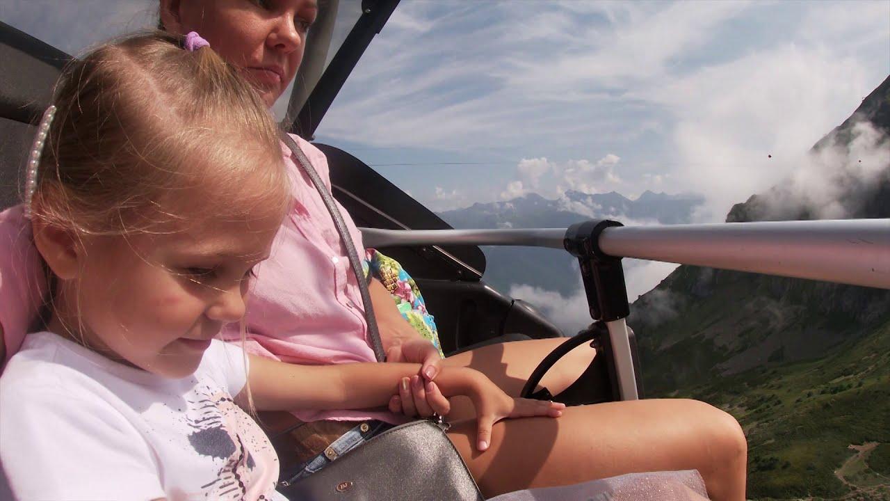 Я очень боюсь высоты! Поднимаемся на 2200 метров Топчем ледник Катаемся на канатных дорогах