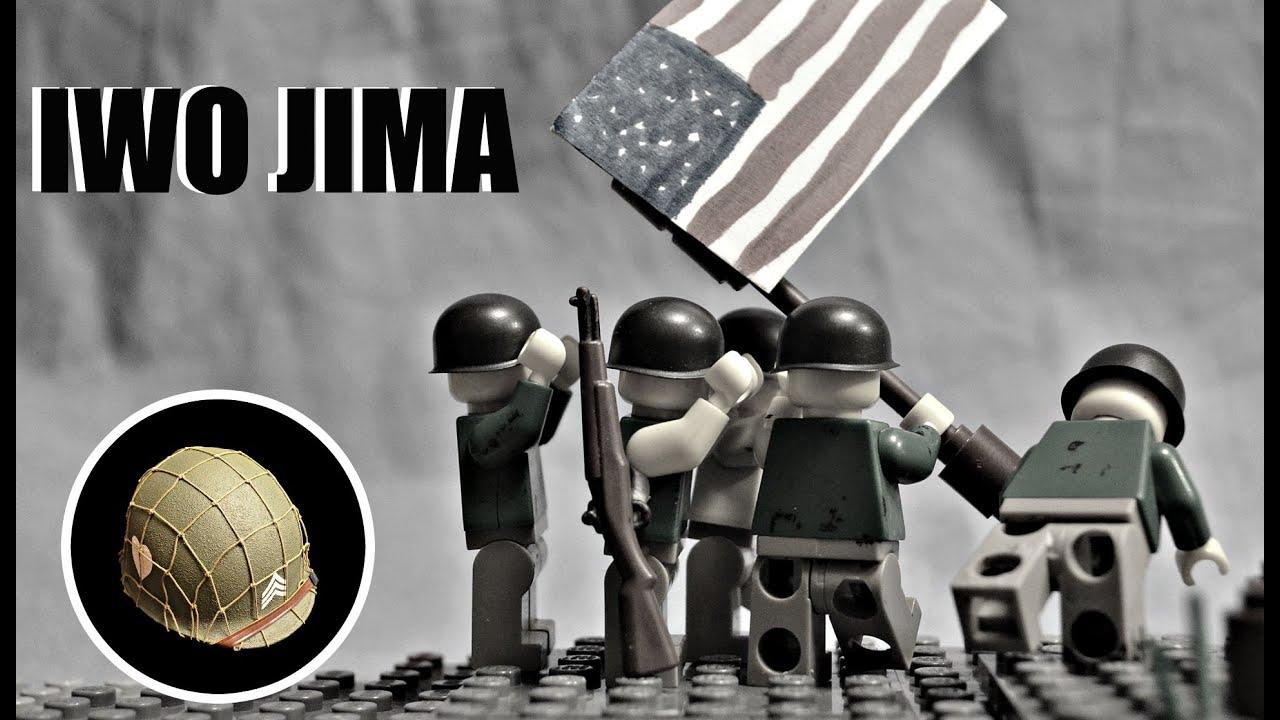 LEGO WW2: BATTLE OF IWO JIMA | BRICKFILM - YouTube