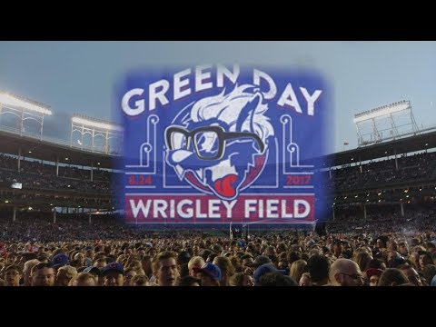 Green Day Wrigley Field- Revolution Radio Tour