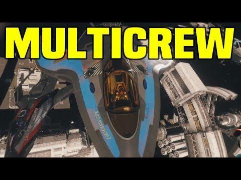 Star Citizen MULTICREW Squadron Missions