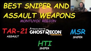 best weapons tar21 msr hti locations ghost recon wildlands gameplay walkthrough