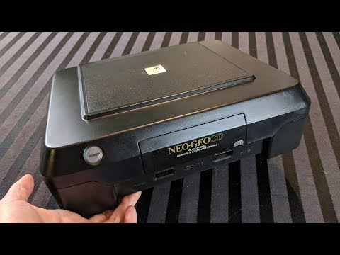 Cleaning and Restoring an SNK Neo Geo CD Front Loader  Adam Koralik