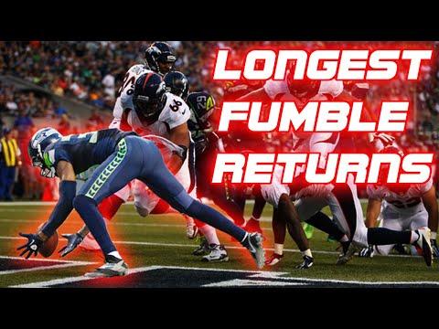 Longest Fumble Returns in NFL Football (95+ Yards)