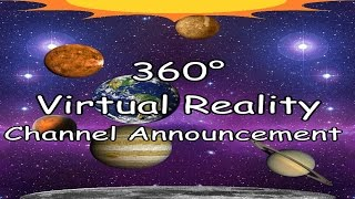 360° Virtual Reality Channel Announcement