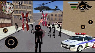 Real Stickman Game Crime Android # |  byNaxeex Corp |  Android GamePlay FHD