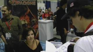 Erik with Brea Grant and Zane Grant (Comic Con 2010)