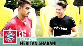 Bayerns nächster Nachwuchs Star?   Meritan Shabani   Parkour-Challenge   FC Bayern München