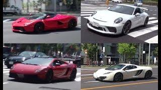 ネタ切れなので一部再投稿です。GW都内のスーパーカーで雑な撮り方のも...