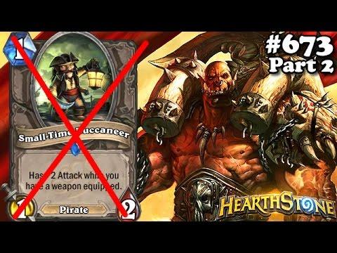 Hearthstone Pirata Nerfado! Será o Fim? Pirate Warrior S35 Parte 2 Standard #673