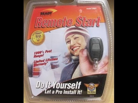 car remote starters explained wire by wire viper python clifford rh youtube com Start Remote 24921B Ready Remote 24927 Manual
