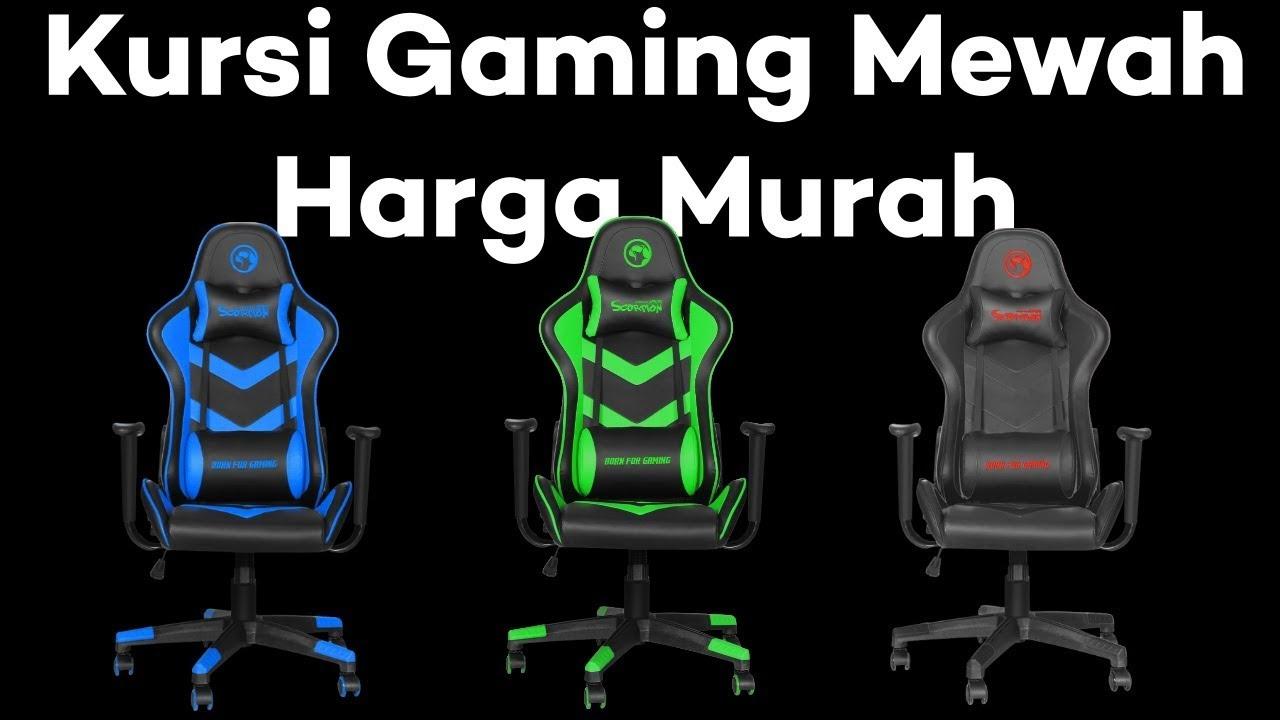 500 Ribuan Harga Kursi Gaming Murah Dibawah 1 Juta