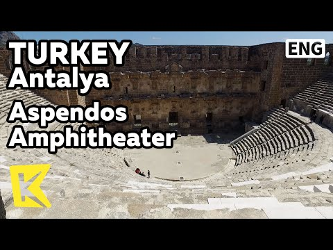 【K】Turkey Travel-Antalya[터키 여행-안탈리아]고대로마 원형극장 아스펜도스/Aspendos amphitheater/Apollo Temple
