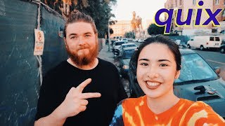 QUIX Interview- married at 21, being Christian in EDM, new zealand, struggles