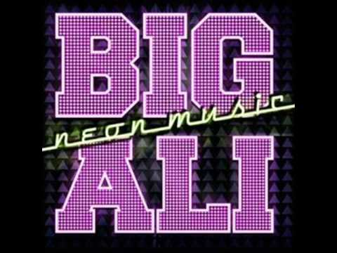 Big Ali neon music remix