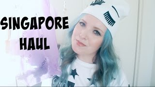 Singapore Haul!   Clothing, Accessories, Food, Misc.