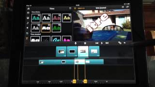 Pinnacle Studio sur iPad 2: Notions avancées (tutoriel)