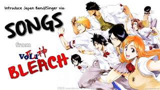 Japanese Band or Singer from BLEACH Vol1 The Voice Behind the Anime#39s OP amp ED 1