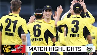 Redbacks collapse with four run outs in WACA run-fest | Marsh One-Day Cup 2021