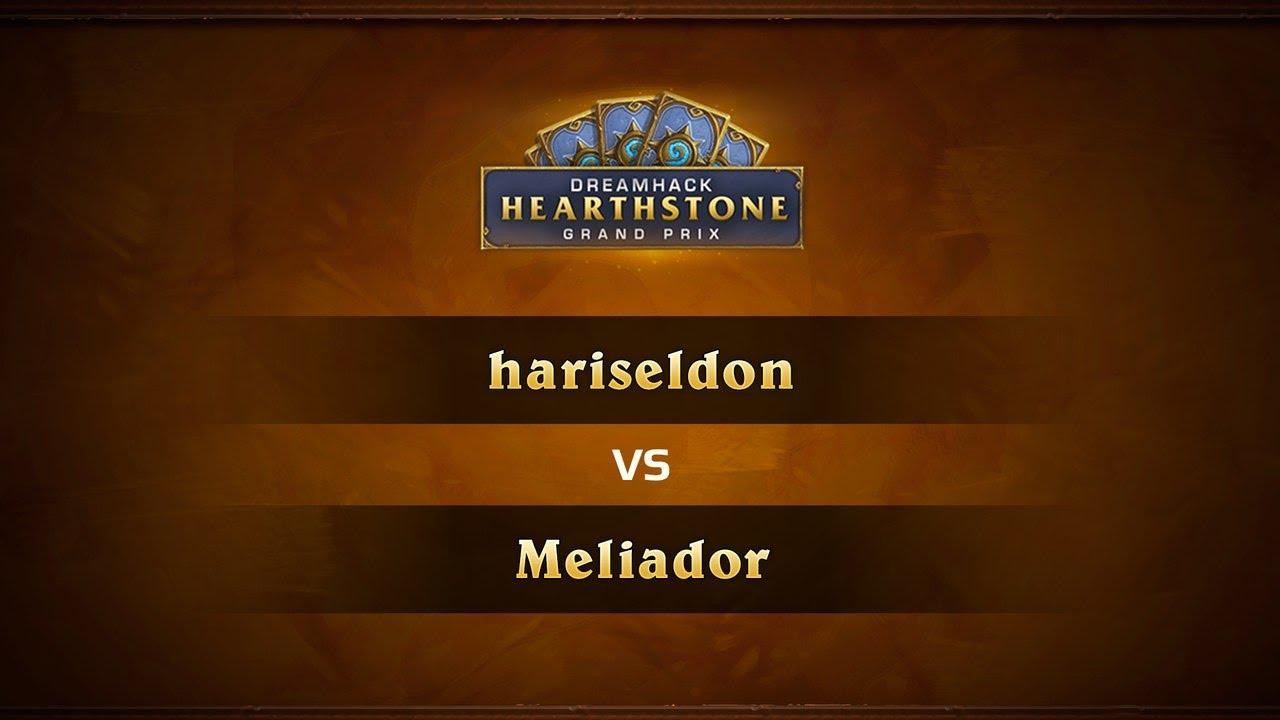 HariSeldon vs Meliador, 1/2, DreamHack Valencia 2017