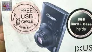 Canon ixus 180 unboxing and review