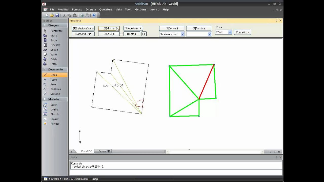 3droom software per il rilievo di interni ita youtube for Software arredamento interni gratis