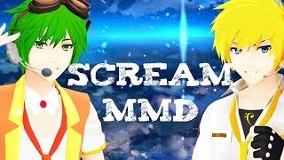 【Scream】 MMD Gumo & Older!Len Kagamine