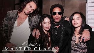 Lenny Kravitz on His Ex-Wife, Lisa Bonet | Oprah's Master Class | Oprah Winfrey Network Video