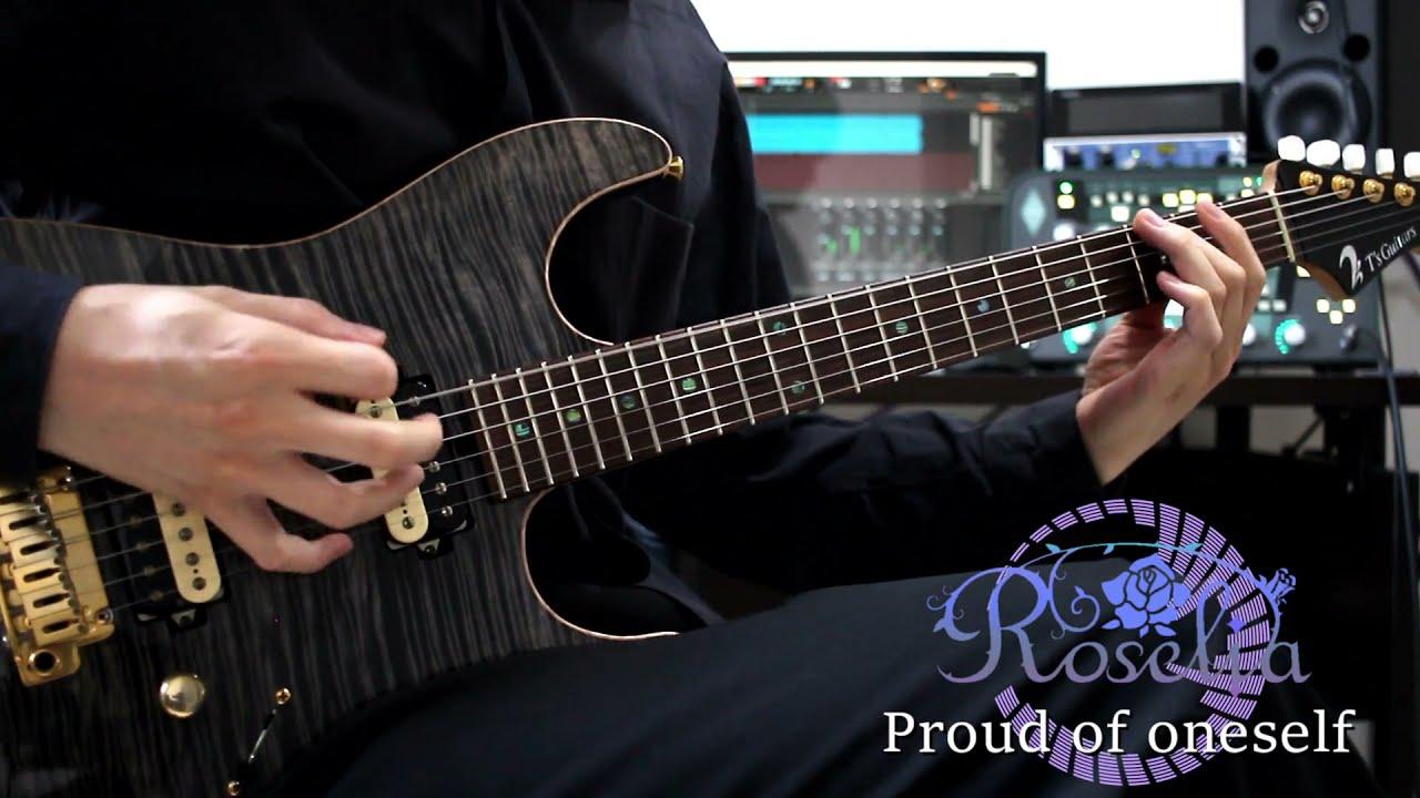 Proud of oneself/Roselia Guitar cover【Bang Dream!】