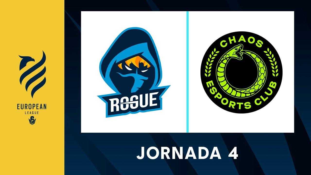 Rogue vs Chaos Esports Club - European League S1 - Stage 1 Jornada 4 #R6EUL
