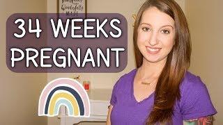 34 WEEKS PREGNANT UPDATE | RAINBOW BABY GIRL | Erika Ann