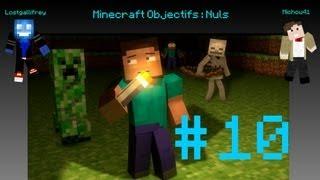 Minecraft Objectifs : Nuls - Avec Michou41 - Episode 10 : La fête à la maison.