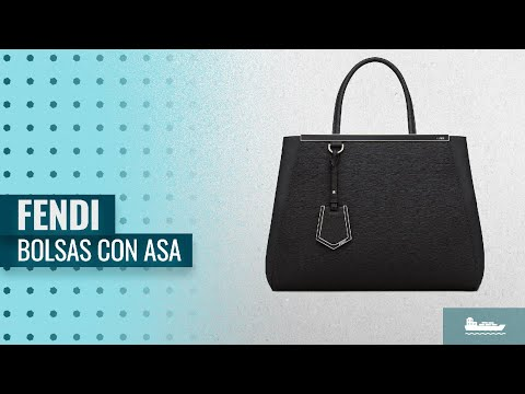 10 Mejores Ventas Bolsas Con Asa De Fendi  Fendi Women Handbag Regular  2Jours Black Elite 25252debf98d9