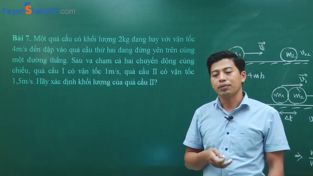Bài tập Ba định luật Niu Tơn – lớp 10 môn Vật Lý – Thầy giáo Phạm Quốc Toản