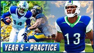NCAA Football 14 Dynasty Year 5 - Preseason Practice w/ New Offensive Scheme | Ep.72