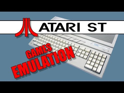 TUTORIAL] Atari ST Games Emulation - YouTube