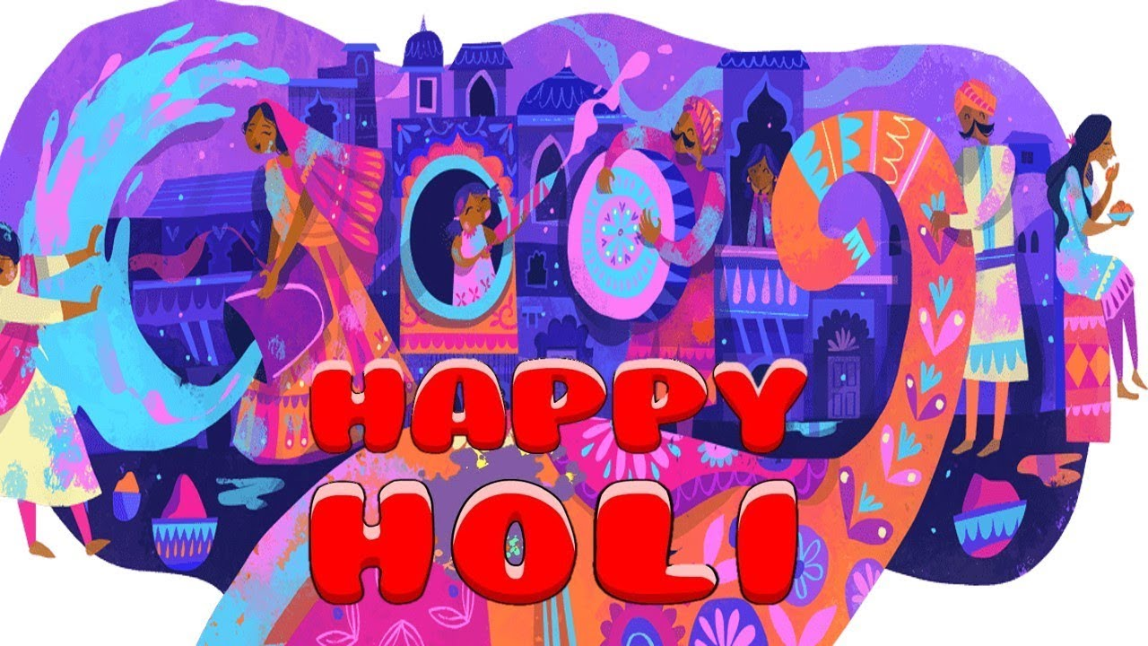 Holi 2019: Google celebrates the 'festival of colours' with a new doodle