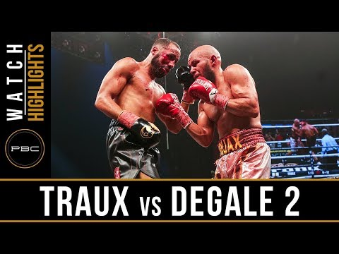 Truax vs DeGale 2 Highlights: April 7, 2017 - PBC on Showtime