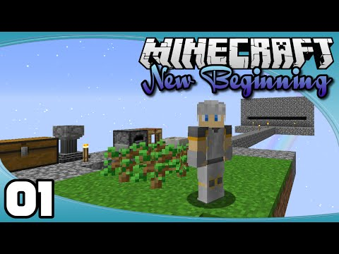 New Beginning - Ep. 1: A 1.9 Skyblock! | New Beginnings Minecraft Modpack Let's Play